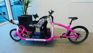 Antiimpossibles rosa cykel